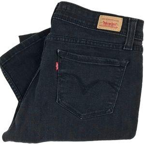 Levi's Demi Curve Low Rise Skinny Jeans 11M 32x28